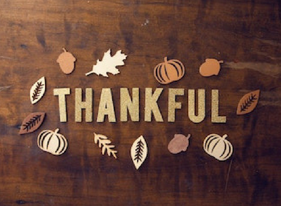 Children's Church: Lesson on being thankful