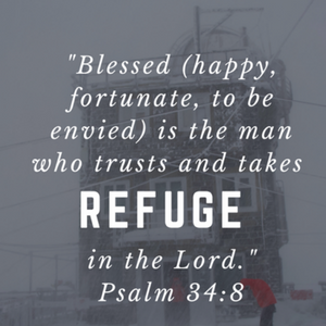 What is truly a safe place of refuge?