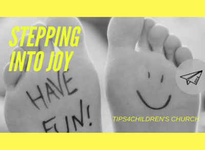 Stepping into Joy in Kid's joy!