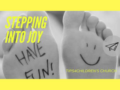 Stepping into Joy in Kid's joy!