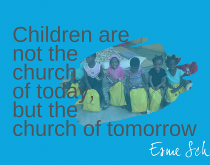 Children are not the church of tomorrow, but the church of today